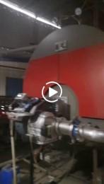 菏锅搭配辉煌低氮燃烧器