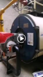 油气两用低氮安装完毕